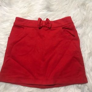 Crazy 8 | 4t Red Bow Skirt
